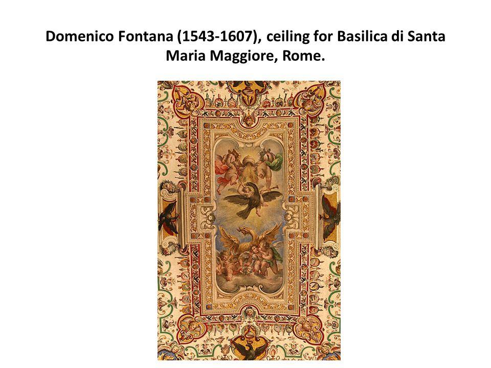 Domenico Fontana (1543-1607), ceiling for Basilica di Santa Maria Maggiore, Rome.
