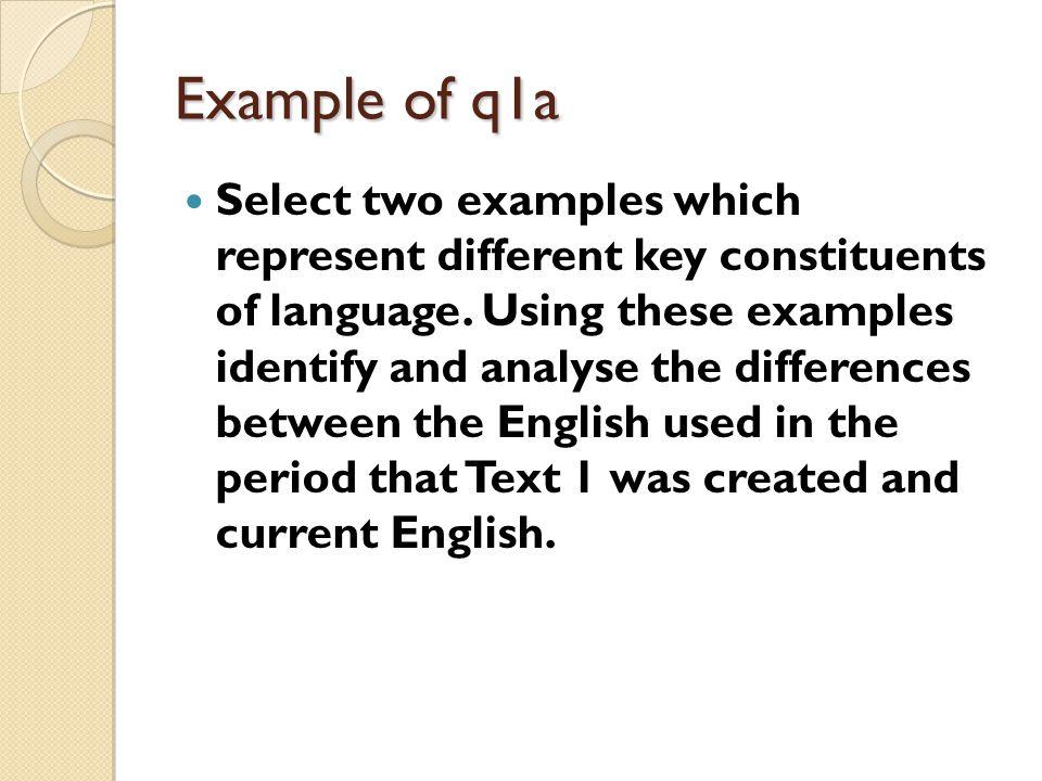 Q 1a AO2 and AO3 both worth 5 marks