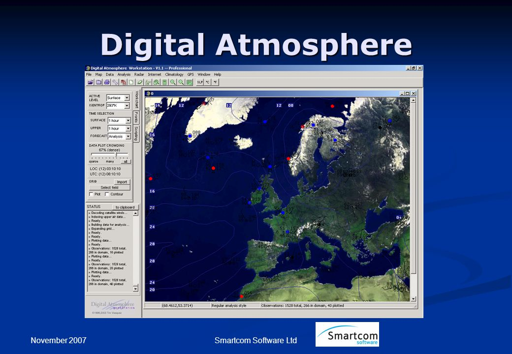 November 2007 Smartcom Software Ltd Digital Atmosphere