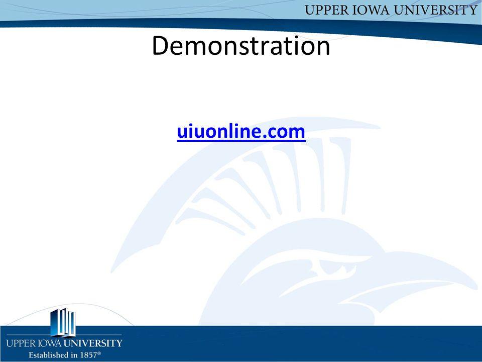 Demonstration uiuonline.com