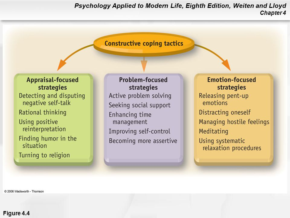 Psychology Applied to Modern Life, Eighth Edition, Weiten and Lloyd Chapter 4 Figure 4.4