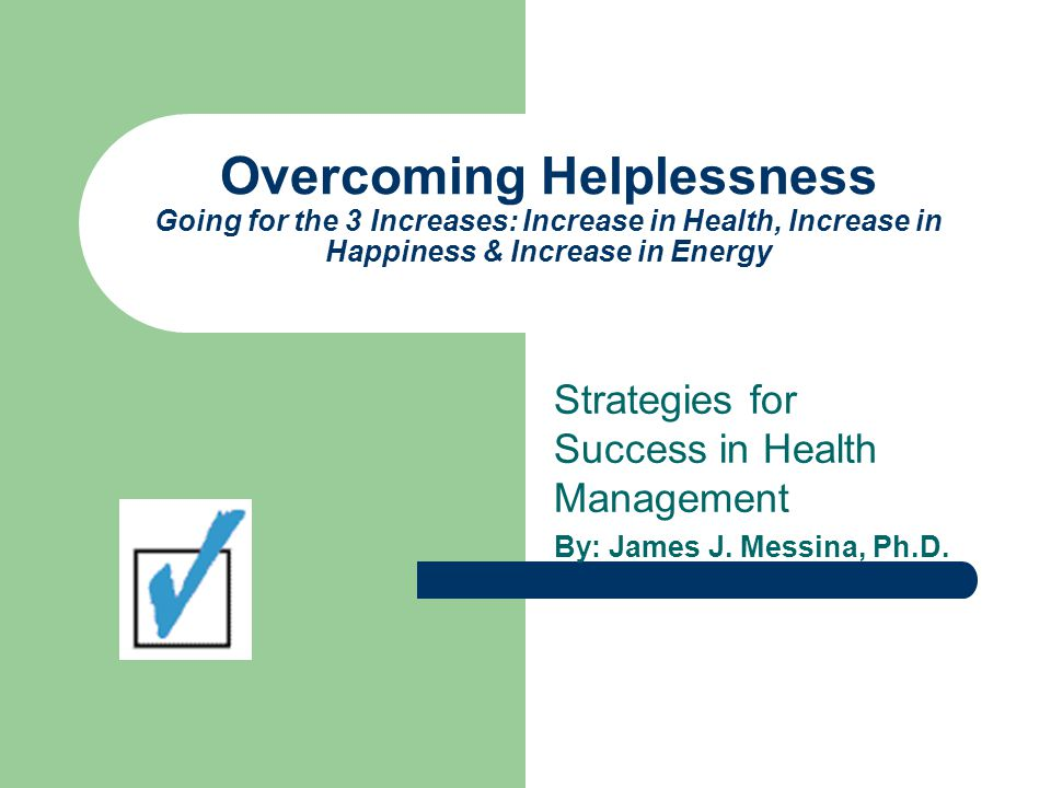 What is the State of Your Self-Help Skills and Behaviors.