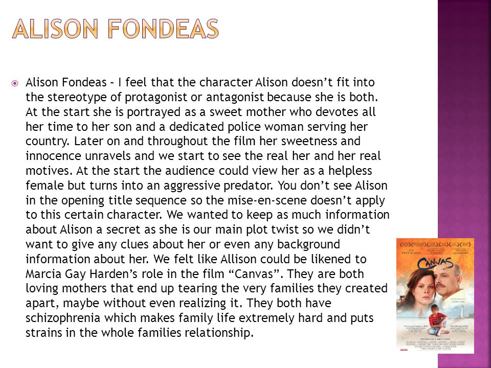  I feel that Tom Fondeas doesn't typically fit into the thriller genre.
