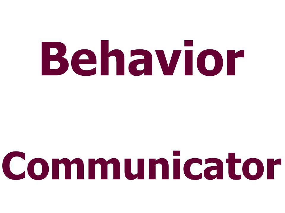 Behavior Communicator