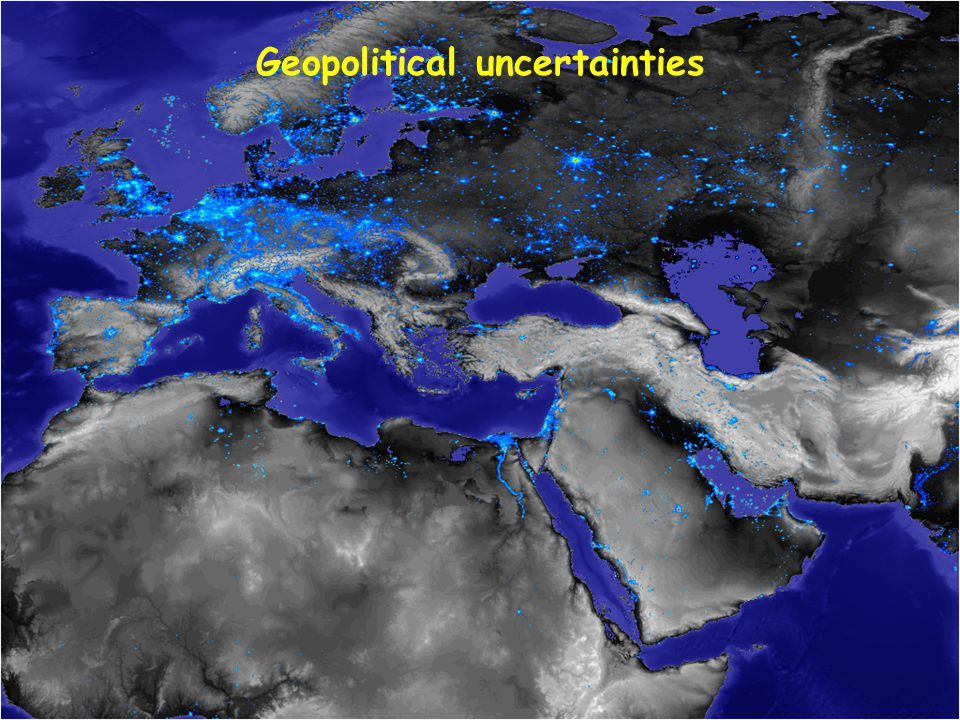 Geopolitical uncertainties