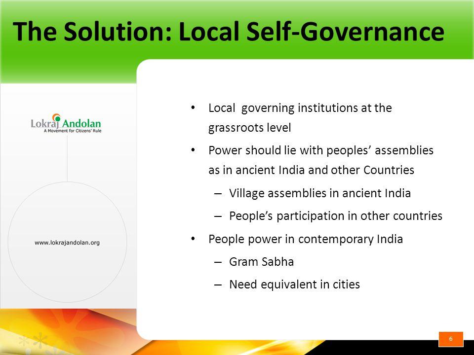 Swaraj Conceptual Overview Lokrajandolan.org 7