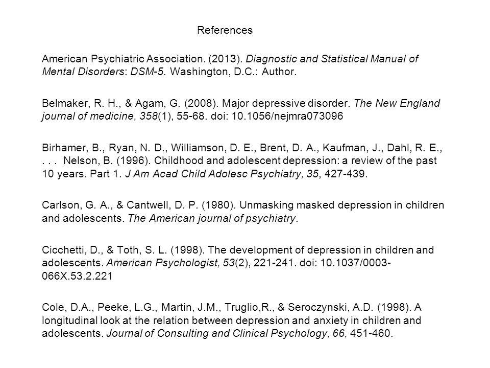 American Psychiatric Association. (2013).