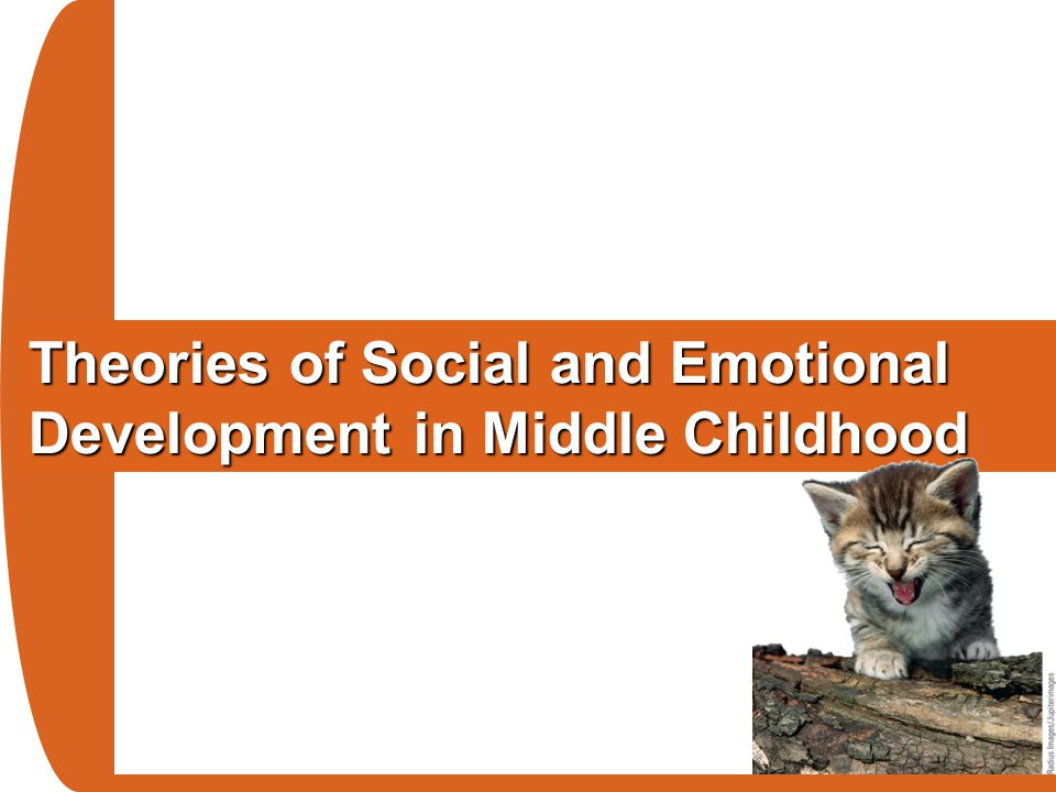 Theories of Social and Emotional Development in Middle Childhood