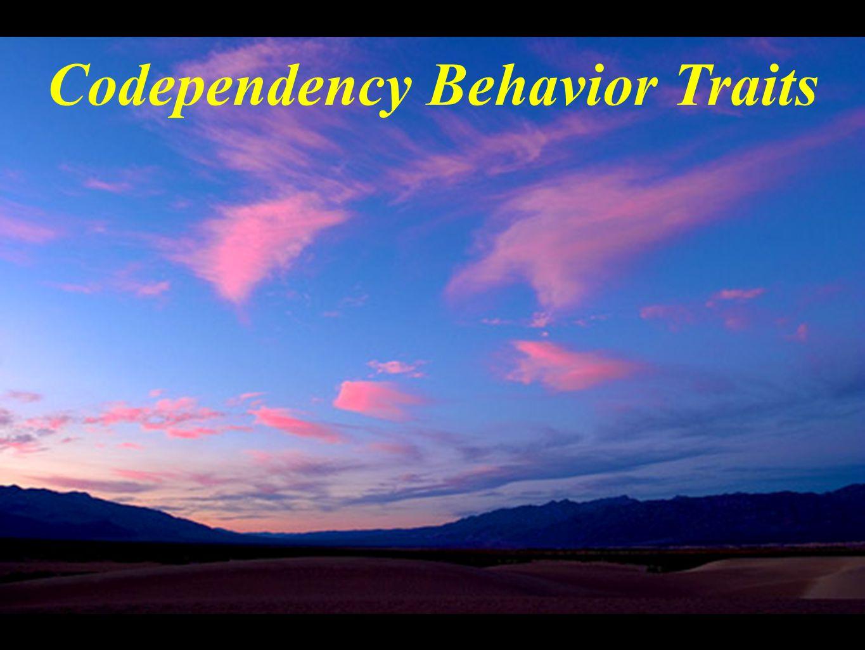 Codependency Behavior Traits