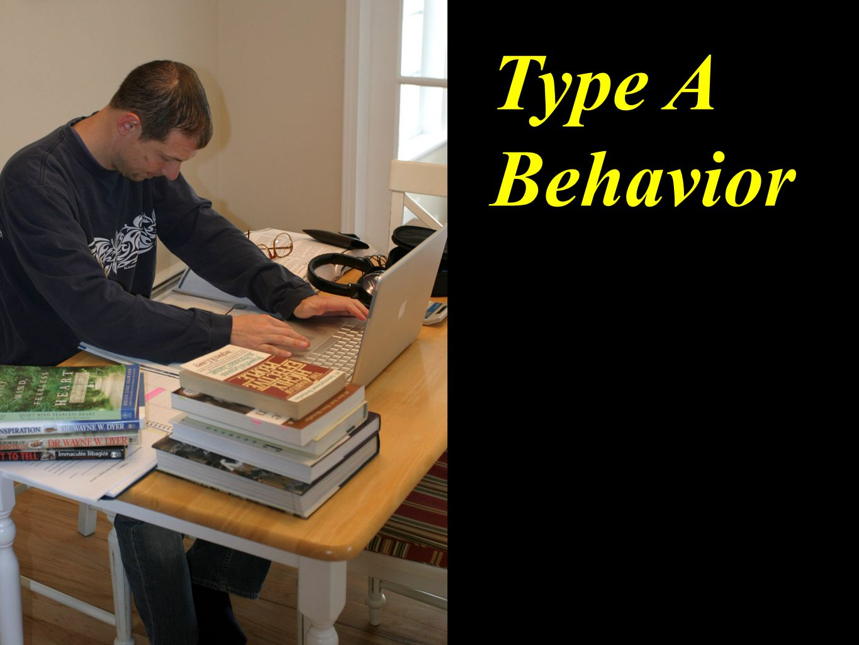 Type A Behavior
