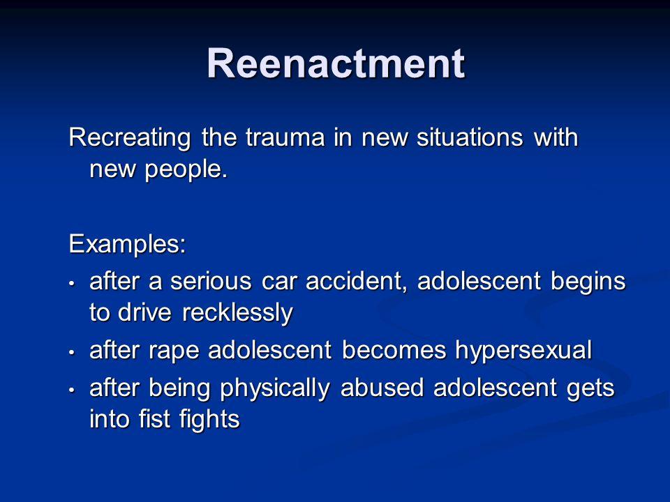 Complex Trauma 1. Dysregulated emotions - rage, betrayal, fear, resignation, defeat, shame.