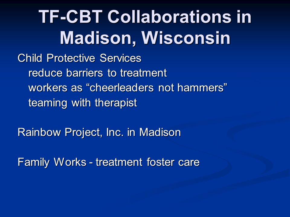 Trauma-focused CBT Free 10-hour web-based training CEUs available tfcbt.musc.edu