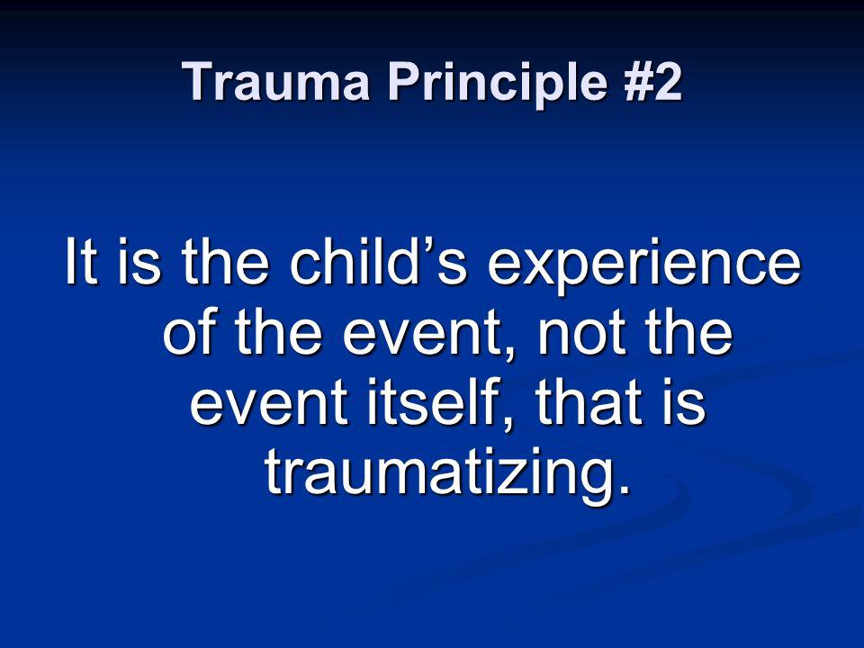 The Neurobiology of Trauma