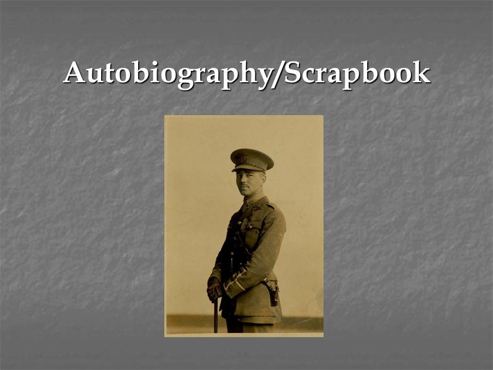 Autobiography/Scrapbook