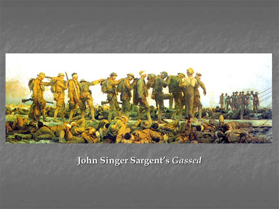 John Singer Sargent's Gassed
