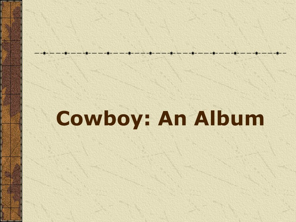 Cowboy: An Album