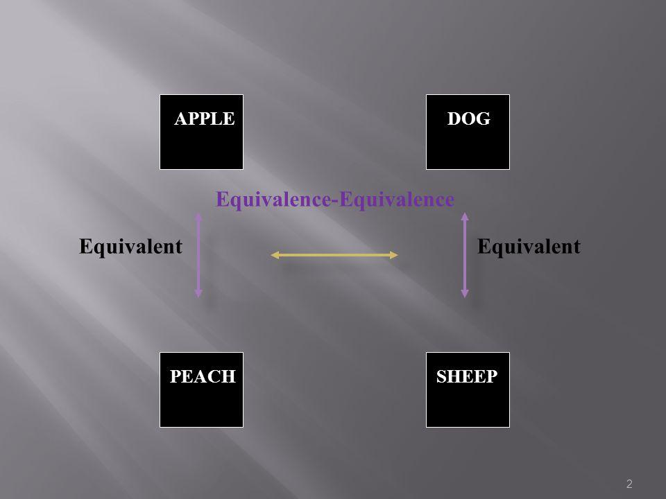 Equivalent APPLE SHEEPPEACH DOG Equivalence-Equivalence Equivalent 2