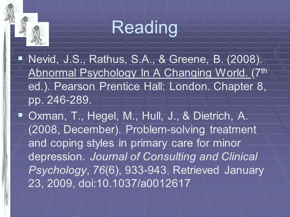   Cohen, L., Gunthert, K., Butler, A., Parrish, B., Wenze, S., & Beck, J.
