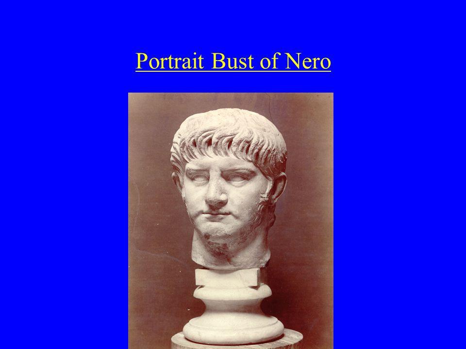 Portrait Bust of Nero