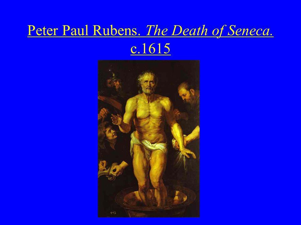 Peter Paul Rubens. The Death of Seneca. c.1615