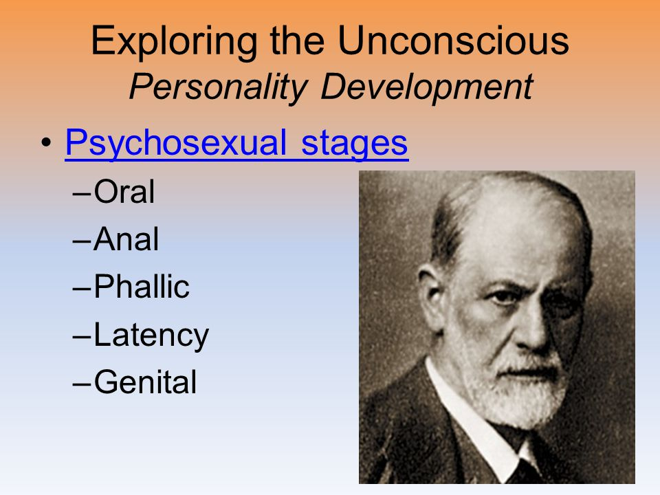 Exploring the Unconscious Psychosexual Stages