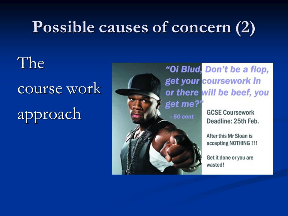 Possible causes for concern (3) Ongoing inequality in the workplace