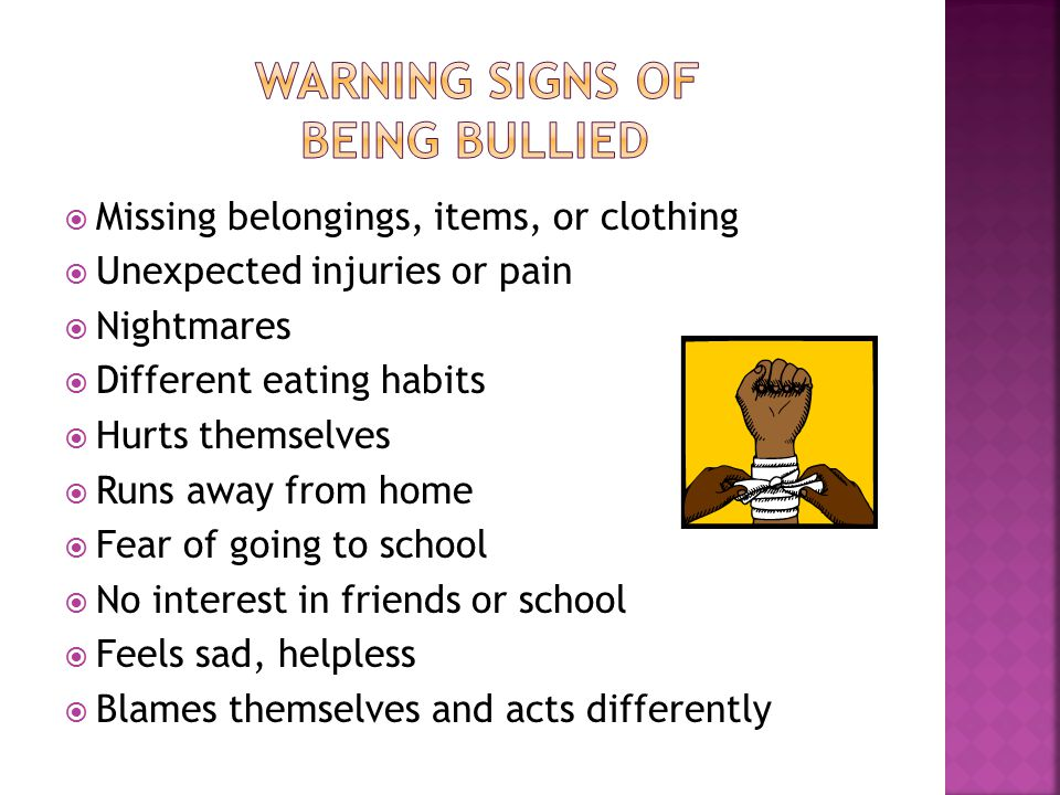  Talk with your children  Tell your child not to respond to bullying  Empathize with your child  Work together to find solutions  Document ongoing bullying  Block the person who is bullying your children  Contact law enforcement  Be persistent