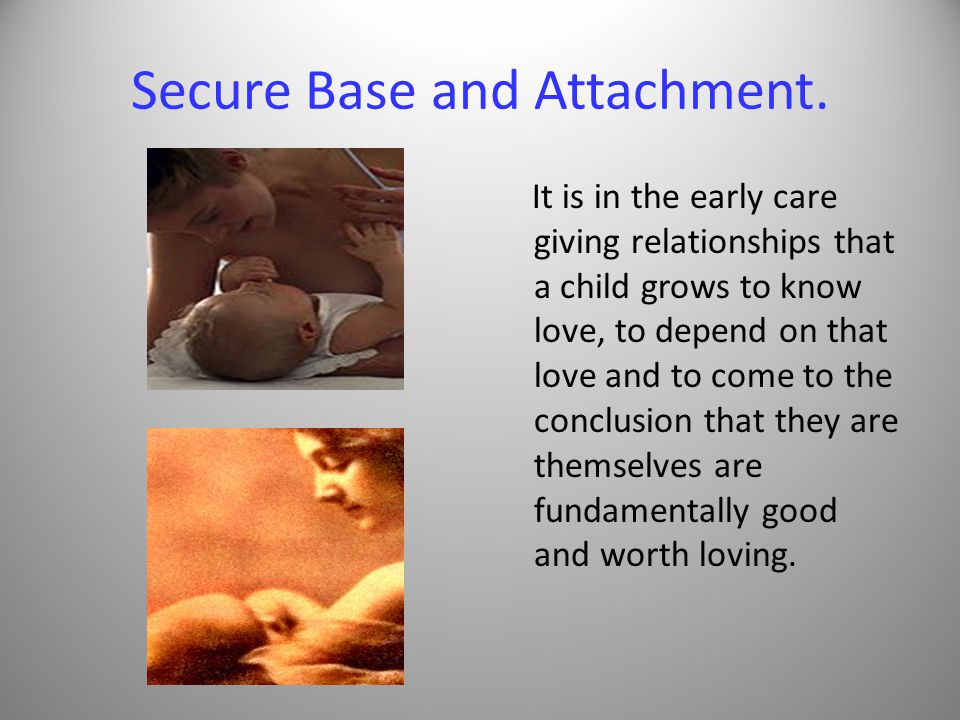 Secure Base and Attachment.