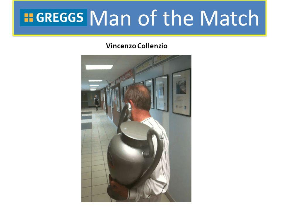 Man of the Match Vincenzo Collenzio