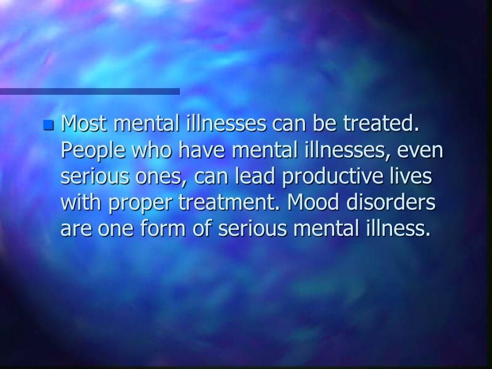 Mood Disorders Types n Bipolar I Disorder Bipolar II Disorder Bipolar Disorder Not Otherwise Specified ( NOS ) Cyclothymic Disorder.