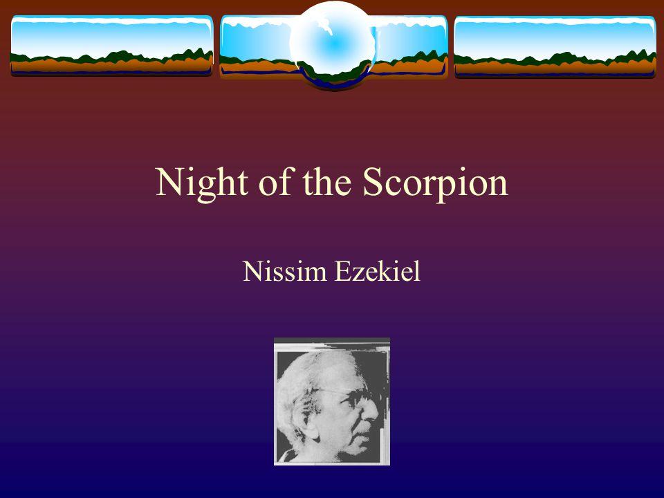 Night of the Scorpion Nissim Ezekiel