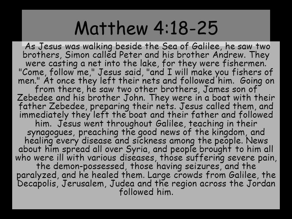 Why Fish 4 Men? III. It's Man's Salvation