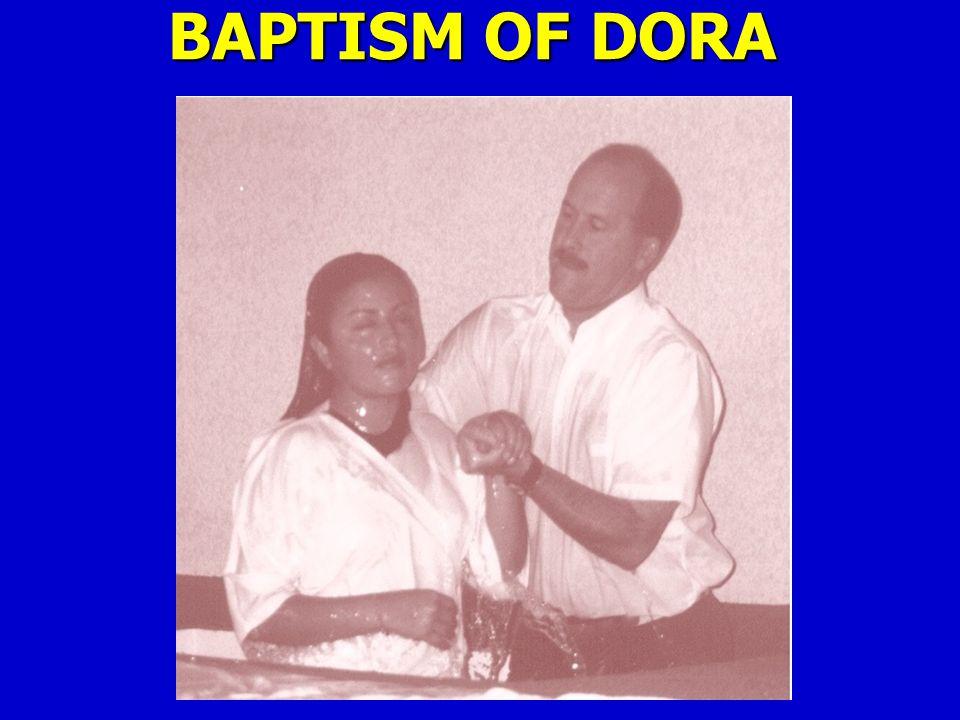 BAPTISM OF DORA