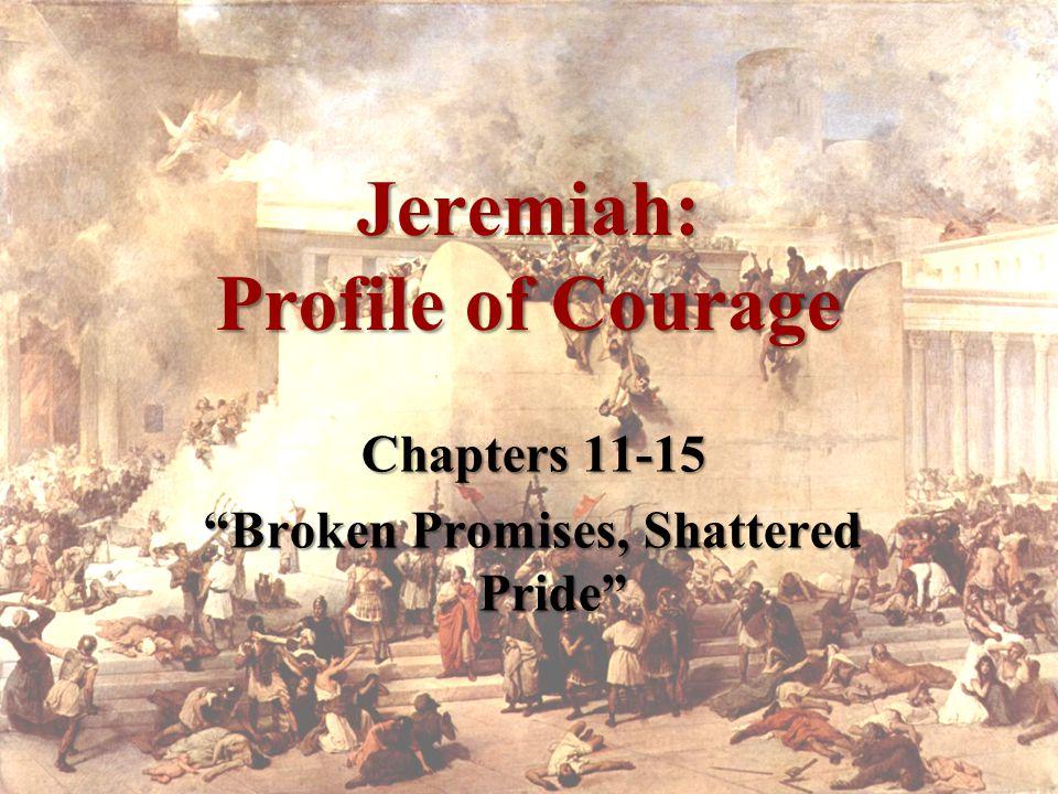 People hiding idolatry –Conspiracy (vs.9) –Judah, like Israel, broke the covenant (vs.