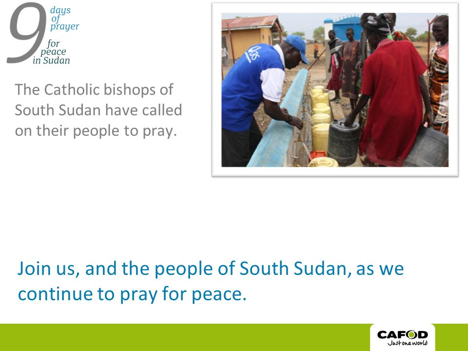 www.cafod.org.uk Picture credits: Caritas Australia