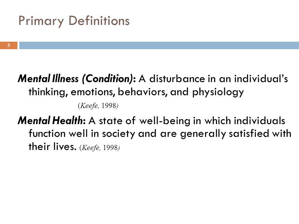 Schizophrenia Disordered cognitive symptoms Declining social/job functioning Disorganized behavior Catatonia (CMHS EBP Toolkits, 2003) 14