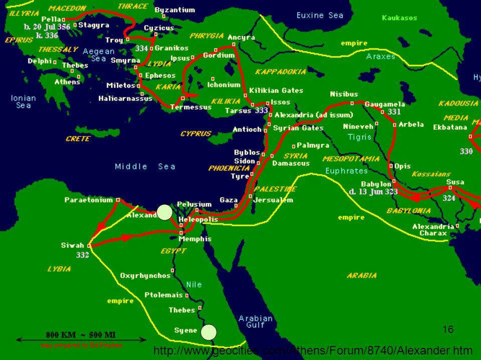 16 http://www.geocities.com/Athens/Forum/8740/Alexander.htm