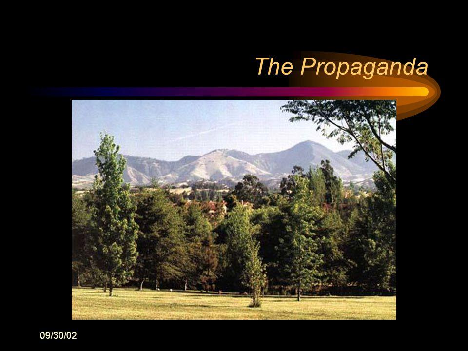 09/30/02 The Propaganda