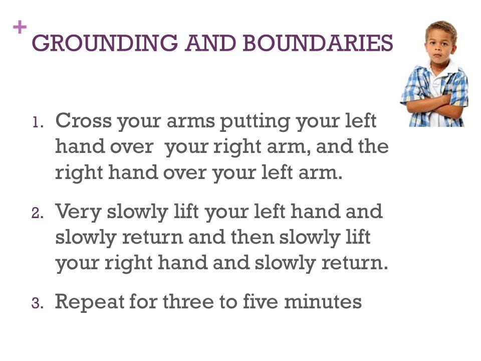 + GROUNDING AND BOUNDARIES 1.