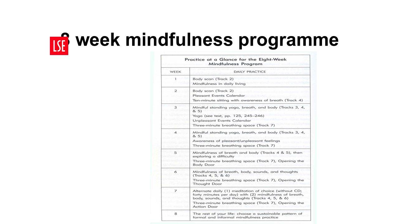 8 week mindfulness programme