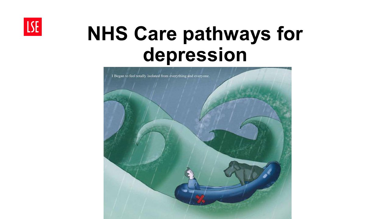NHS Care pathways for depression