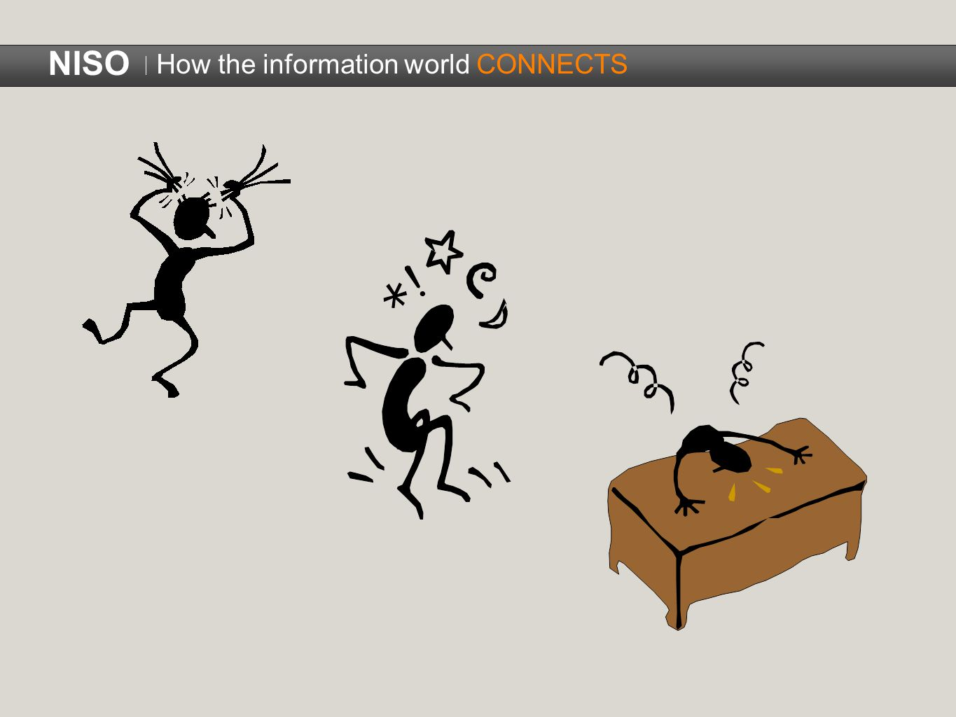 How the information world CONNECTS