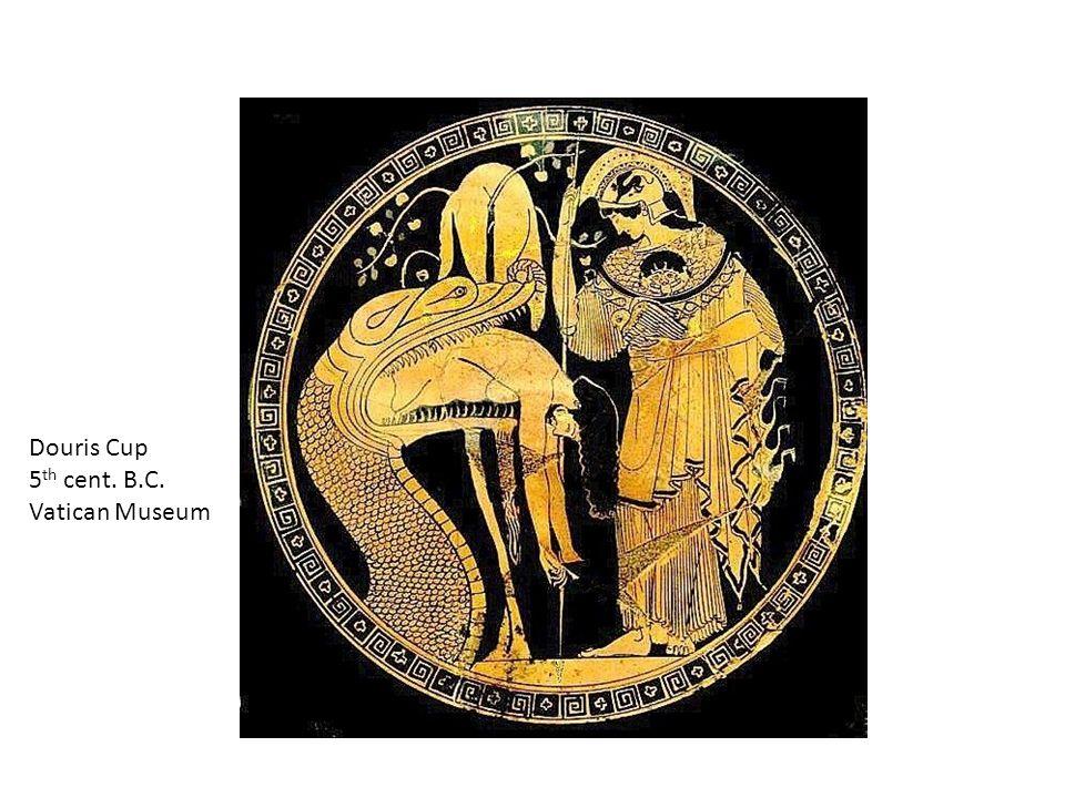 Medea, Jason, Orpheus and the Dragon W. Russell Flint 1910