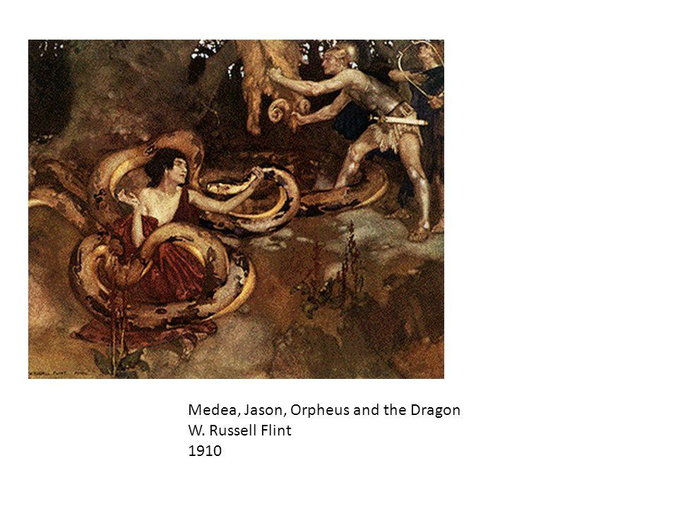 The Golden Fleece Herbert Draper 1904 Oil on canvas Bradford Art Galleries and Museums, Bradford, England Death of Medea's brother Aspyrtus