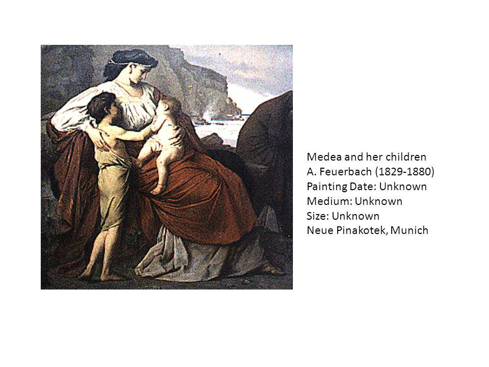 Medea (1868) Henri Klagmann (1842-1871) Musée des Beaux-Arts de Nancy