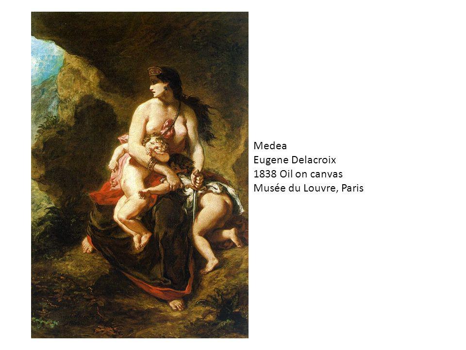 Medea Alfons Mucha 1898 Lithograph 206 x 76 cm Location: Unknown