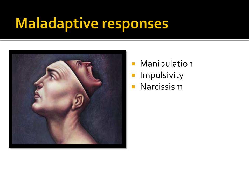  Manipulation  Impulsivity  Narcissism