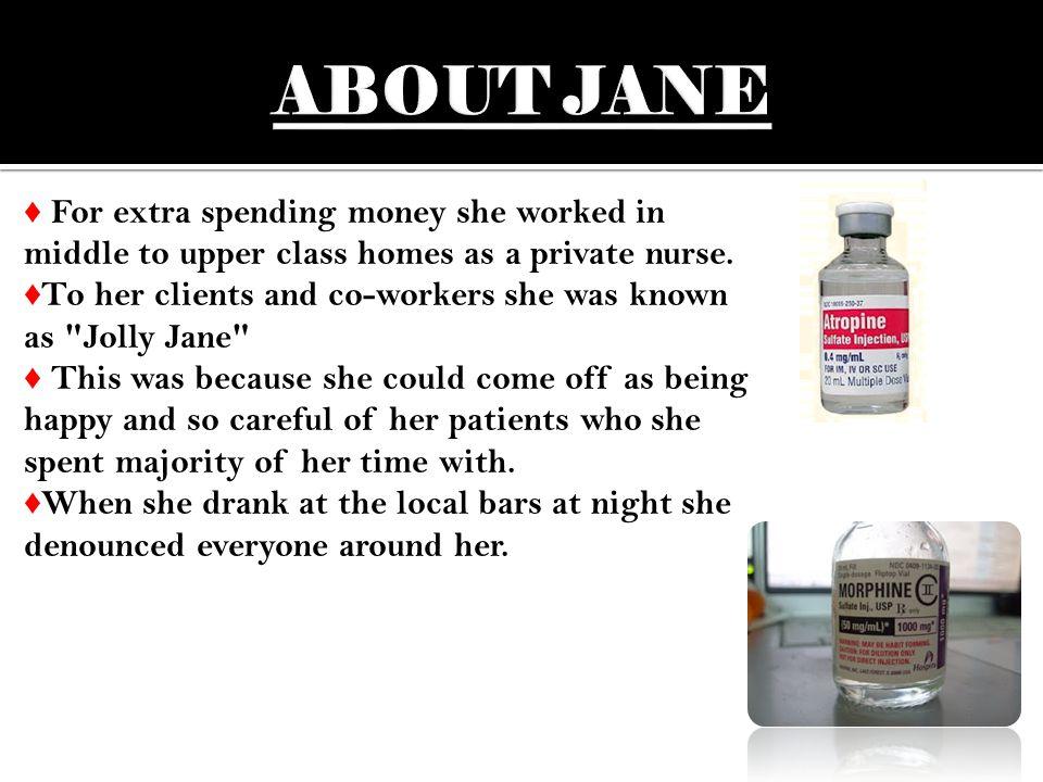♦ She decided she needed different surroundings so she left home for nursing school in 1885.