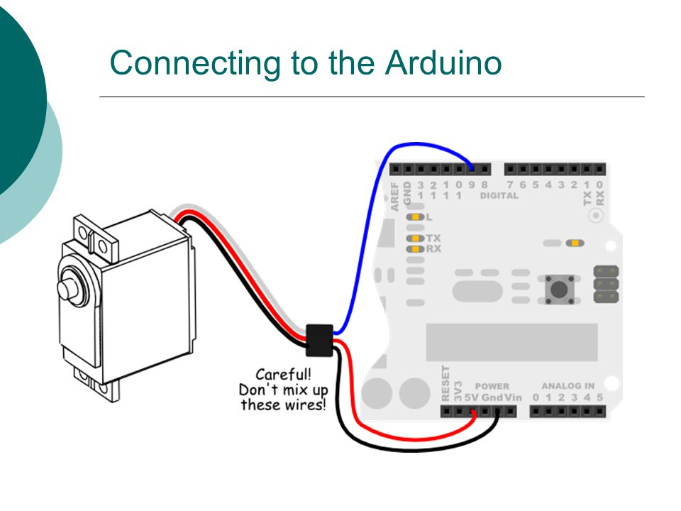 Connecting to the Arduino