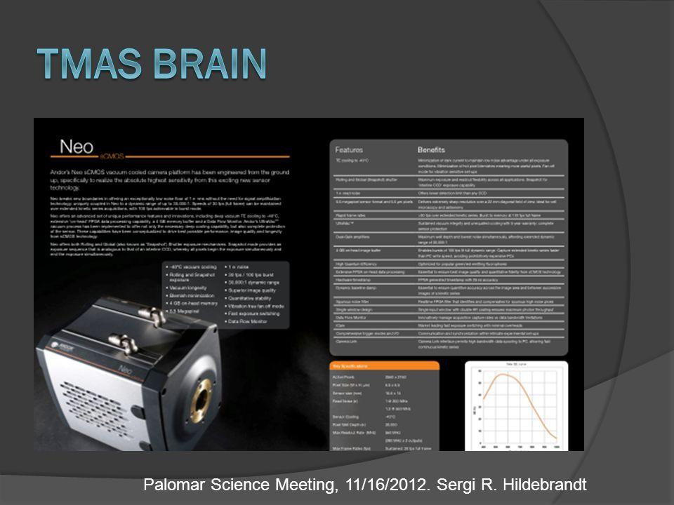 Palomar Science Meeting, 11/16/2012. Sergi R. Hildebrandt